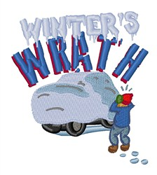 Winters Wrath embroidery design