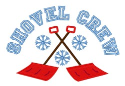 Shovel Crew embroidery design