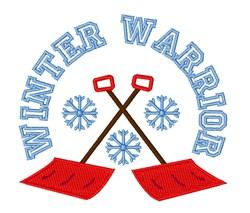 Winter Warrior embroidery design