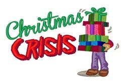 Christmas Crisis embroidery design