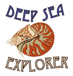 Deep Sea Explorer embroidery design