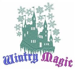 Wintry Magic embroidery design