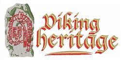 Viking Heritage embroidery design
