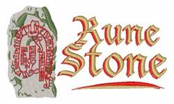 Rune Stone embroidery design