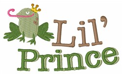 Lil Prince embroidery design