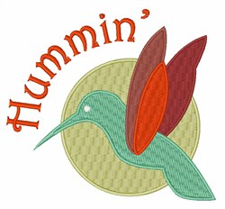 Hummin Bird embroidery design