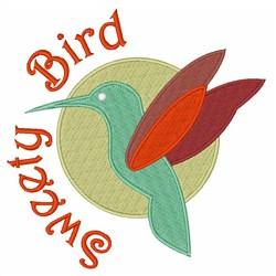 Sweety Bird embroidery design