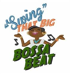Bossa Beat embroidery design