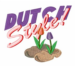 Dutch Style embroidery design