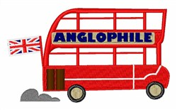 Anglophile embroidery design
