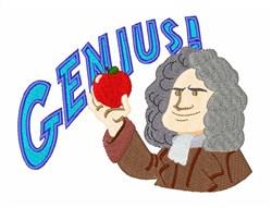 Genius embroidery design