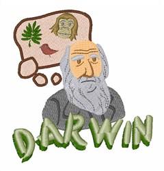 Darwin embroidery design
