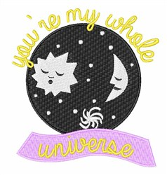 My Universe embroidery design