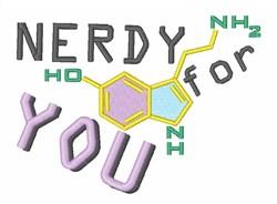 Nerdy For You Embroidery Designs Machine Embroidery Designs At EmbroideryDesigns.com