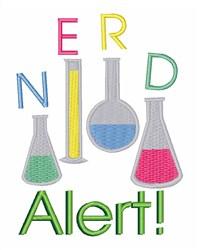 Nerd Alert embroidery design