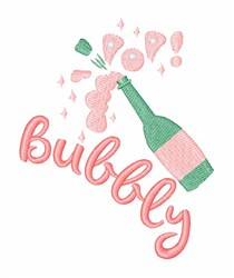 Bubbly embroidery design