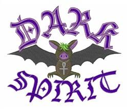 Dark Spirit embroidery design