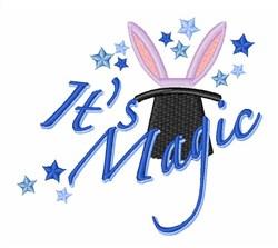 Its Magic embroidery design