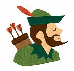 Robin Hood embroidery design
