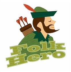 Folk Hero embroidery design
