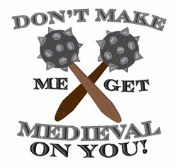 Get Medieval embroidery design