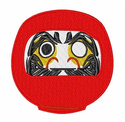 Daruma Doll embroidery design