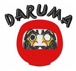 Daruma embroidery design
