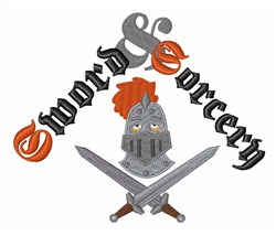Sword & Sorcery embroidery design