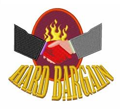 Hard Bargin embroidery design