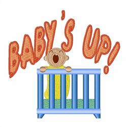 Babys Up embroidery design