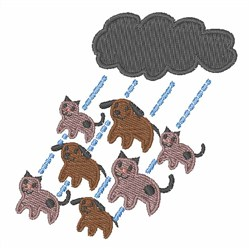 Cats & Dogs embroidery design
