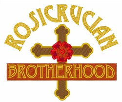 Rosicrucian Brotherhood embroidery design