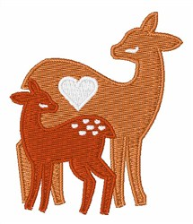 Fawn & Doe embroidery design