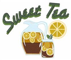 Sweet Tea embroidery design