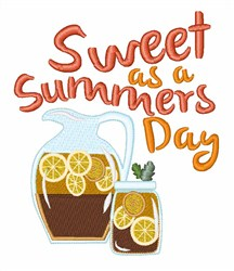 Sweet Summer Day embroidery design