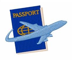 Passport embroidery design