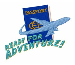 Ready For Adventure embroidery design