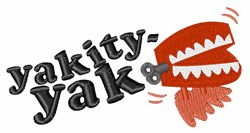 Yakity Yak embroidery design