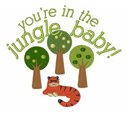 Jungle Baby embroidery design