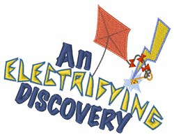 Electrifying Discovery embroidery design