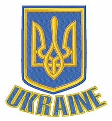 Ukraine embroidery design