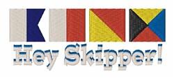 Hey Skipper embroidery design