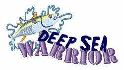 Deep Sea Warrior embroidery design