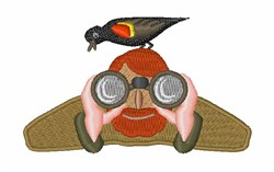 Bird Watcher embroidery design