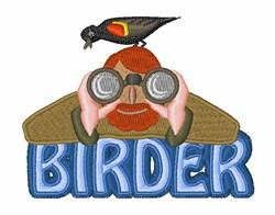 Birder embroidery design