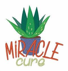 Miracle Cure embroidery design