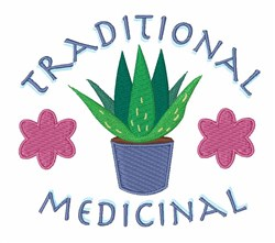 Traditional Medicinal embroidery design