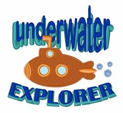 Underwater Explorer embroidery design