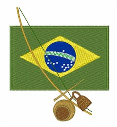 Brazillian Bell embroidery design