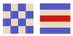 Distress Flags embroidery design